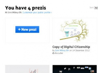 Prezi is an interactive presentation tool with an infinite canvas.