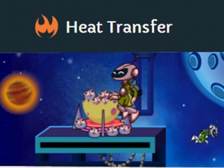 Discover the actual processes of heat transfer through gameplay.
