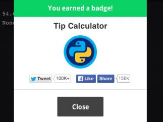 To help motivate, kids can earn badges for completing code projects.