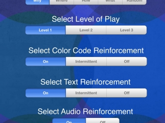 Teaches can customize settings for each student.