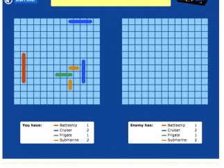 Games like Battleship help students to learn classroom content.