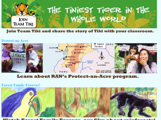 Tiki the Tiger and the short film, Forest Family Forever, should appeal to young animal lovers.
