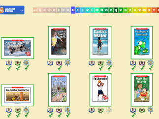 At every level, students have access to high-interest texts on a range of topics.