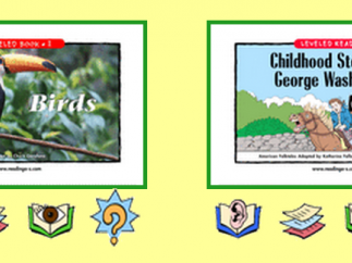 Students have the option to read or listen to each book before taking a quiz.