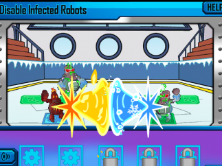 Robots battle to see whose traits come out on top!