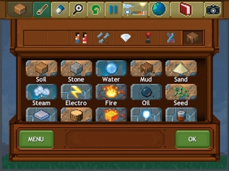 Kids can create worlds using hundreds of elements in the Create mode.