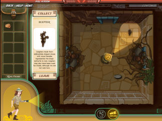 Pyramid exploration games send players after artifacts from different castes.