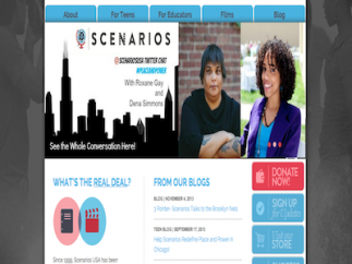 Teachers will find free lesson plans with some videos, and kids can view teaser clips, but much of the Scenarios USA website content has to be purchased.