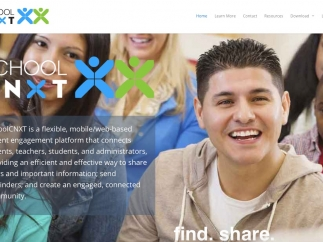 SchoolCNXT is a messaging tool for schools.