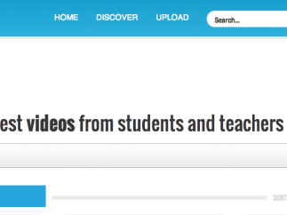 "SchoolTube features the most popular videos on the ""Discover"" page."