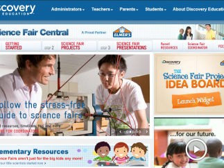 Science Fair Central provides resources to run or participate in science fairs.