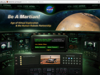 """NASA's """"Be a Martian"""" project is one of the site's picks for HS classrooms."""