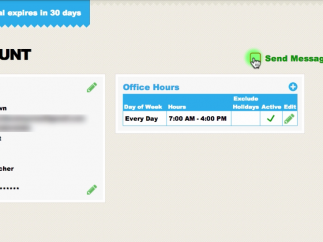 An Office Hours feature allows teachers to control their texting availability.