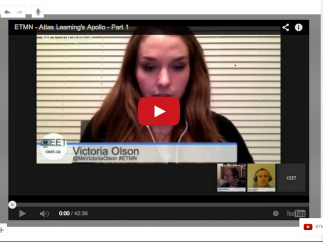 Students will see your screen on their own devices in real time.