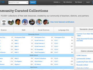 There are tons of teacher-made collections to choose from, or teachers can create their own.