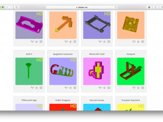 A large gallery of creations lets kids get started hacking and remixing.