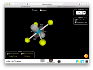 Lovely 3D visuals show off molecule shapes right in your browser.