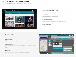 App templates can help students get started.