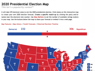 Follow current elections or review patterns from past elections.