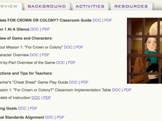 An Educator's Guide provides instructions and tips.