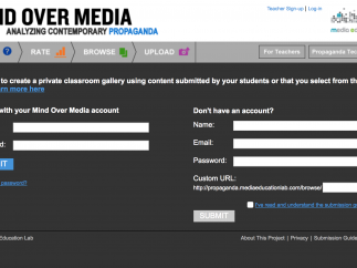 Signing up is quick. Students can be invited by sharing your class's URL or using a form.