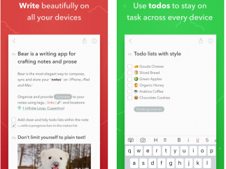 Write, access, organize, beautify, and sync your notes across devices.