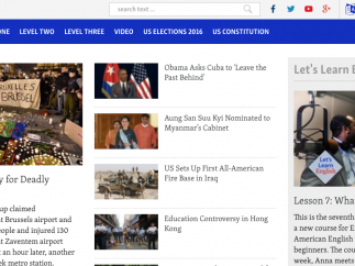 """More than world news; check out the """"Let's Learn English"""" course for additonal content and resources."""