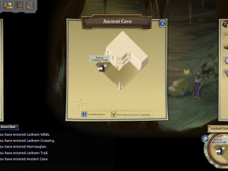 Maps make it easy to find the next quest.