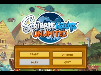 Scribblenauts Unlimited is a traditional living room game with a standard dashboard; no teacher or parental controls.