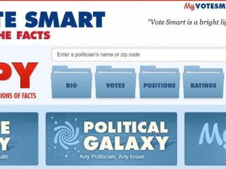 Students can search any candidate or elected official.