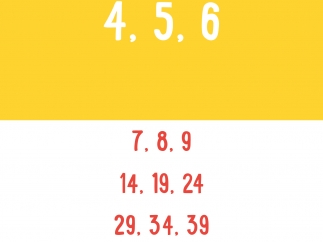 Complete the sequence by choosing the correct answer from the list.