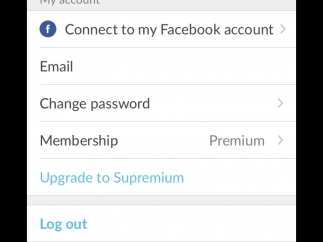 Customize log-in and upgrade membership through PicMonkey's settings.