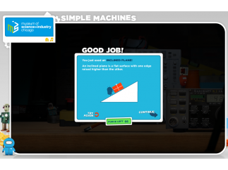 When students complete a task, they're give more information about the machine used.