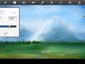 Students can create professional-quality digital art using layers, customizing resolution, and employing numerous brushes.