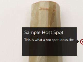 "Users can annotate resources with ""hot spots."""