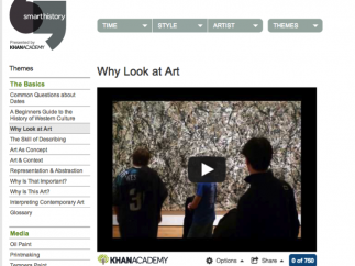 """The """"conversational interpretation"""" model demonstrated in the videos shows a less rigid way of thinking about art, encouraging personal and critical thinking."""