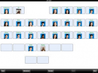 Add student pictures to make seating charts easier to follow.