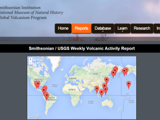 Check out up-to-date volcano activity from around the world.