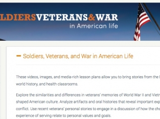A large collection of resources teach about the impacts of war.
