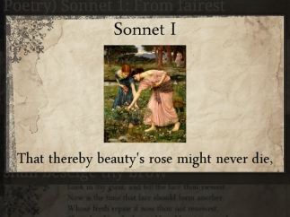 Keyword or phrase searches make finding sonnets easy.