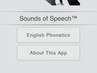 To begin, simply tap the English Phonetics button.