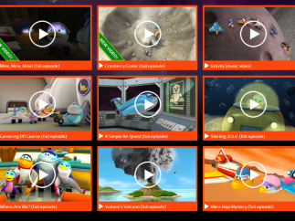 There are multiple videos that cover a variety of space-related topics.