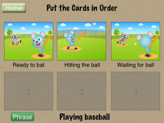 Clear directions and familiar situations layout easy play.