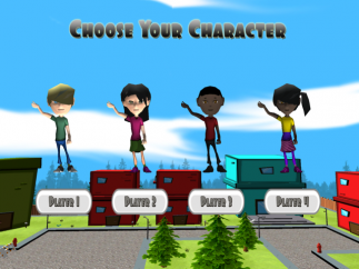 Students can use an avitar as they play the game.