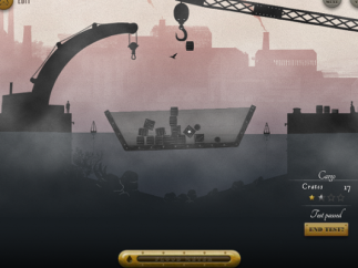 How many crates can the ship hold before it breaks?