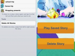 Save and share an individual user's stories via email.
