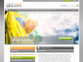 The Blasts are a timely, interactive, and accessible way to engage students.