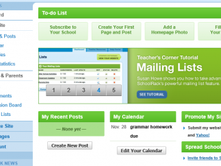 Use the platform's tools to keep your classes up to date.