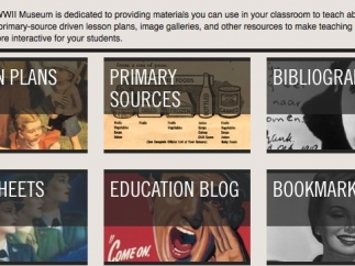 Lesson plans engage students in a variety of WWII topics.