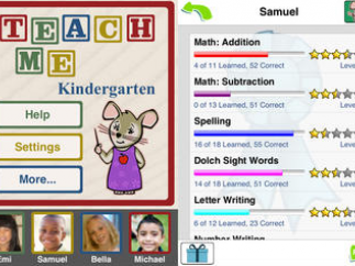 User settings and tracking for each student.